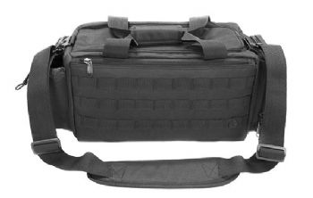 "Leapers UTG All-in-1 Range/Utility Go Bag 21""x9""x8"" Black - 600D polyester, multi Padded compartment"